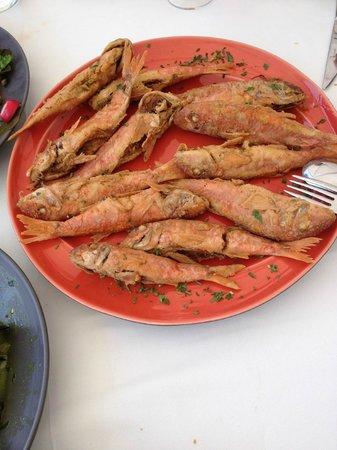 Ammoudi Fish Tavern: Fried Fish