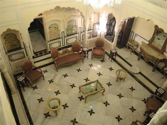 Shahpura House: Lounge area