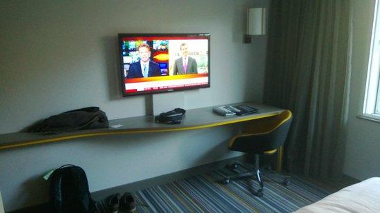 Pullman London St Pancras Hotel : la télé
