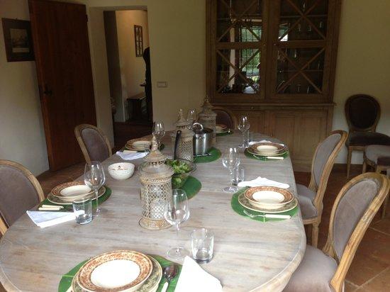 Tenuta di Murlo: Dining room