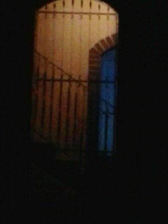 Casa Novoa stairwell - night