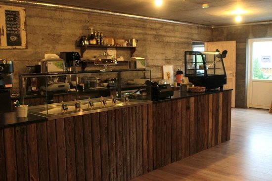 Farmhotel Efstidalur : salle du petit déjeuner
