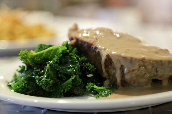 Magnolia Ray: Local Meatloaf & Kale