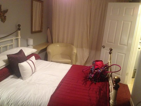 Castle Lodge: Nice cosy but clean room!