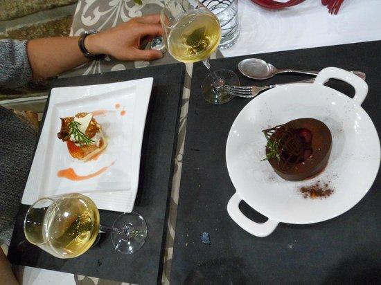 Restaurant La Côte : desserts d'enfer !!!
