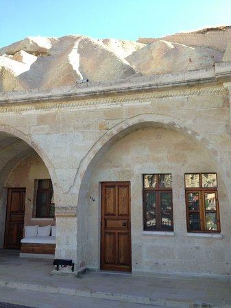 Alfina Hotel Cappadocia: Entrada da suite em que ficamos