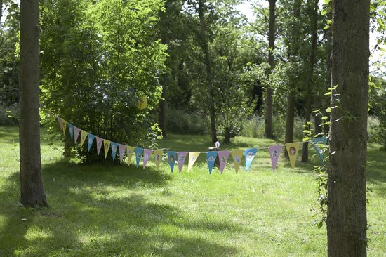Nethergong Nurseries Camping: A beautiful setting for a birthday