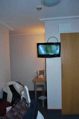 Adria Hotel: Vanuit het bed