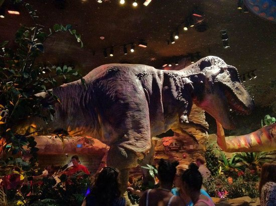 T Rex Cafe Orlando Reservations