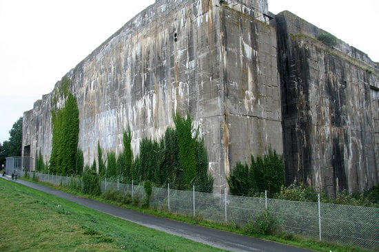U-Boot Bunker Valentin: Bunker Valentin