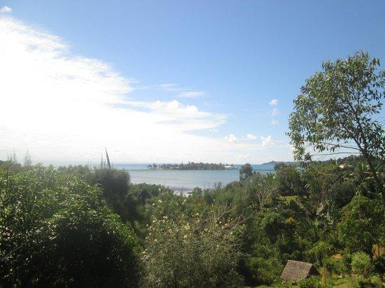 La vue picture of les jardins d 39 eden nosy boraha for Le jardin d eden