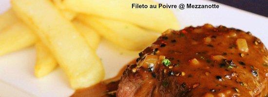 Mezzanotte Ristorante: Filet Mignon au Poivre