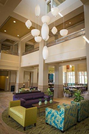 Fireplace Picture Of Hilton Garden Inn Los Angeles Montebello Montebello Tripadvisor