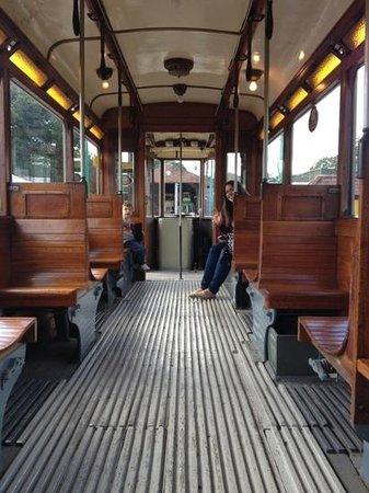 East Anglia Transport Museum: fun in the tram