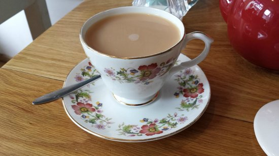 Delicious: You can't beat tea in a china cup