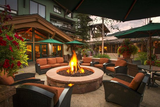 The Lodge at Vail, A RockResort: Fire Pit