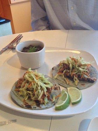 Fiction Kitchen : My new favorite - Tinga Tacos!