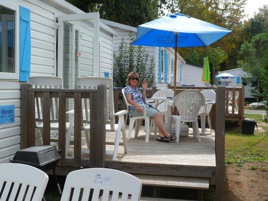 camping la chapelle caravan at la chapelle camping la chapelle argelas sur