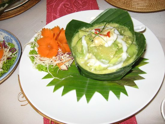 Bopha Angkor Restaurant: Fish amok