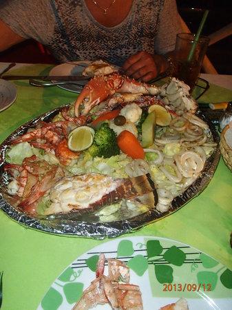 La Lobsteria: Excellent! Le repas pour 2!!!!