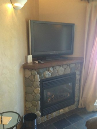 Chalet View Lodge: TV