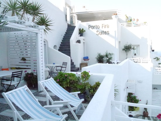 Porto Fira Suites : Next to reception - room 14