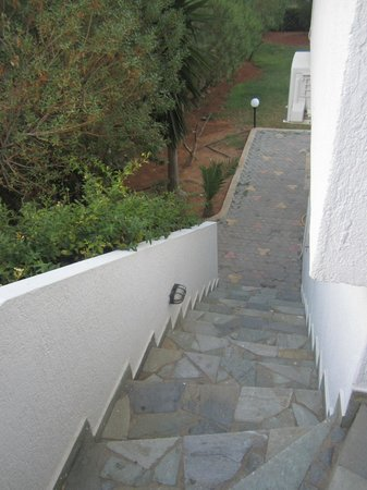 Vlychada Apartments: stairs to the room