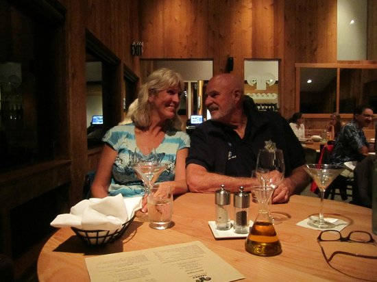 Black Point Grill at Sea Ranch Lodge: Me and Johnny enjoying our evening!