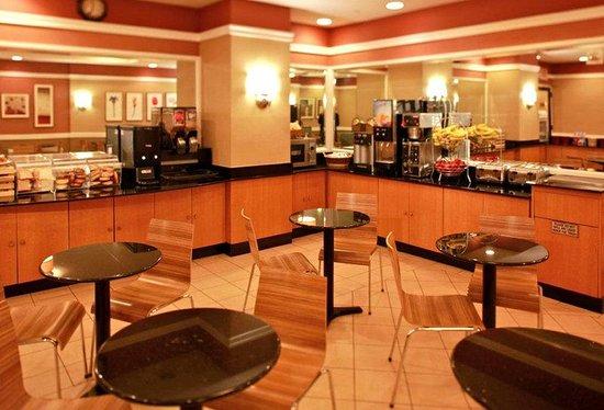nyma, the New York Manhattan Hotel: Breakfast Area