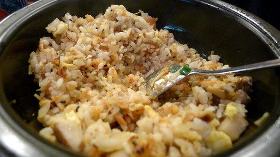 Rice based dishes at Ajisen Ramen