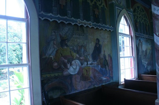 The Painted Church: Inside