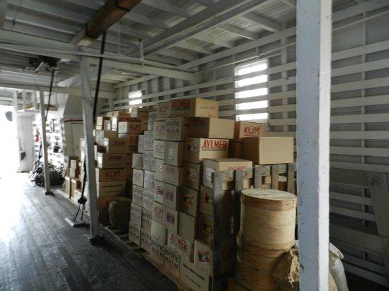 S.S. Klondike : cargo hold SS Klondike