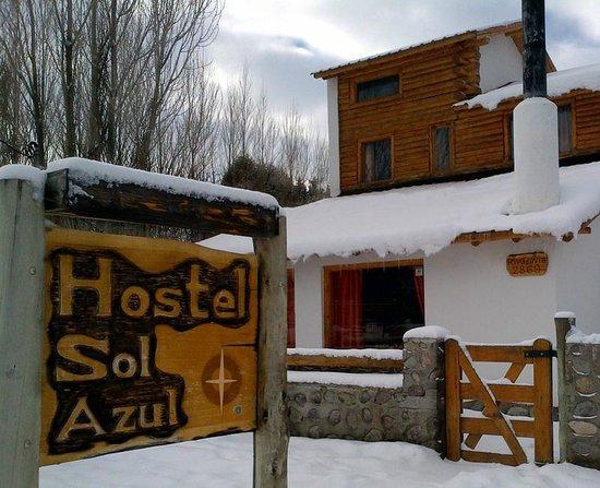Hostel Sol Azul: entrada al hostel