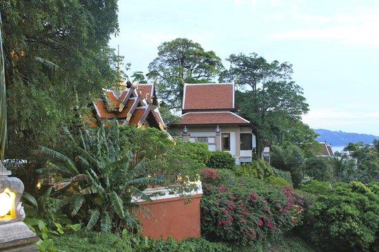Diamond Cliff Resort and Spa: Looking at villas