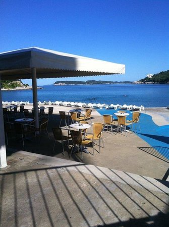 Hotel Adriatic: Adriatic beach
