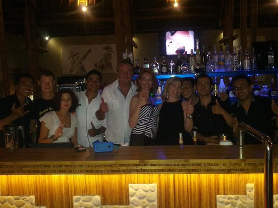 Bamboo Bar & Grill: these guys are the best in Bali!