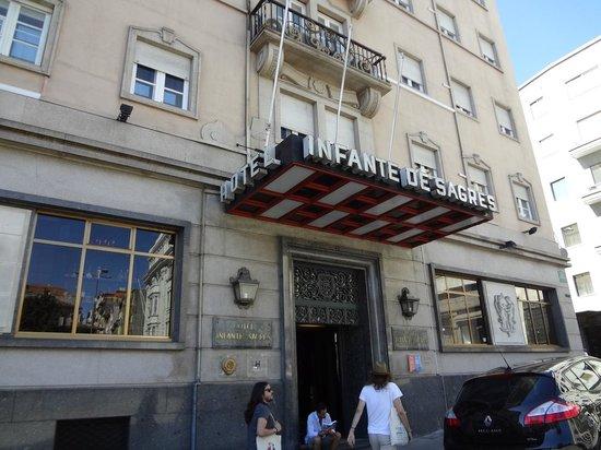 Hotel Infante Sagres: 外観