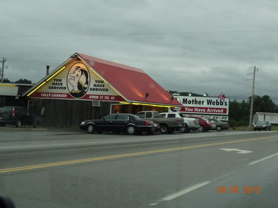 Mother Webb's Steakhouse: Just seeing this photo makes me hungry !