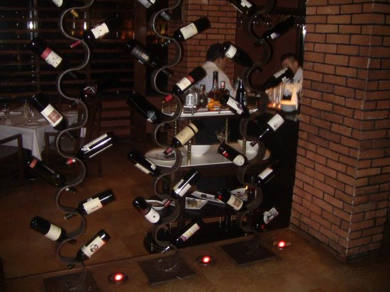 La Capilla Argentina: Wine selection.