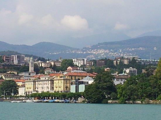 Lake Lugano: vista do lago