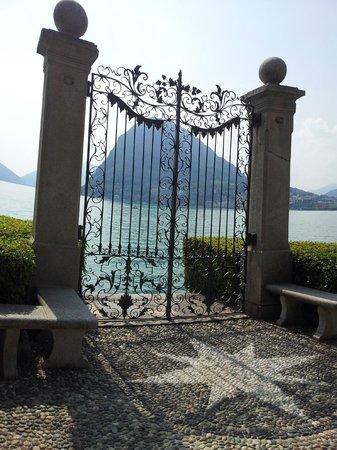 Lake Lugano: Detalhe do Portão do Lago