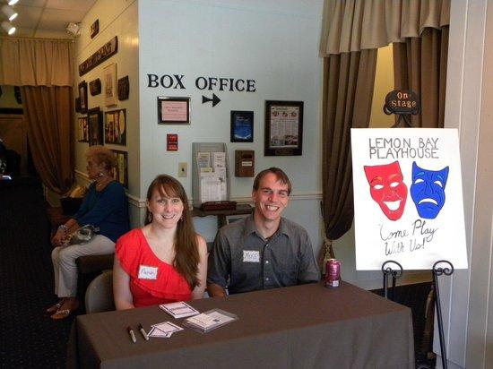 Lemon Bay Playhouse : Mariah and Mike at Open House