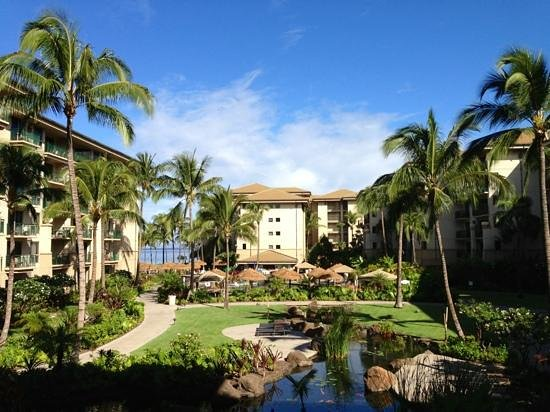 Westin Maui Resort And Spa: les bâtiments