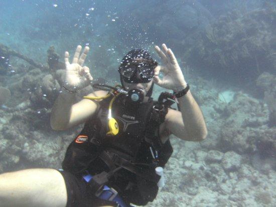 La Calypso Dive Center: Our patient instructor Nico