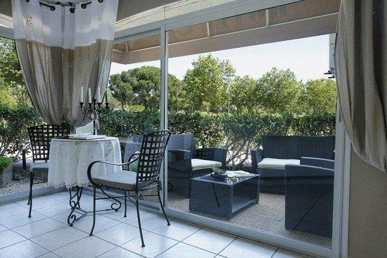 Hotel Opal : terrace