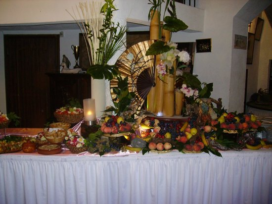 Villedieu Traiteur, Mas de Garguier: Buffet, composition de fruits
