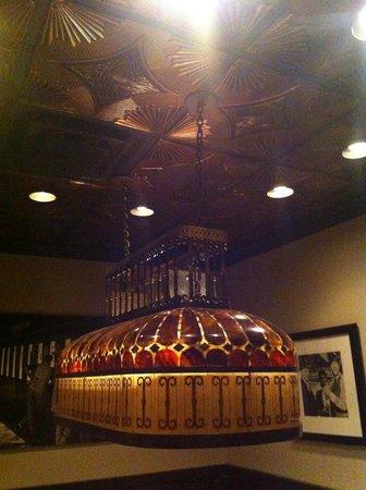 Walt's Hitching Post : Chandelier
