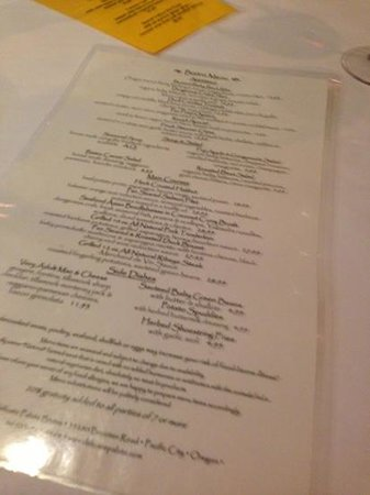 Delicate Palate Bistro: Insanely Good Menu! - Wow! Fair Pricing