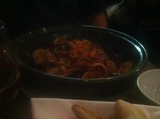 Luca's Ristorante: Pasta with Seafood