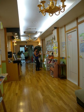 Hostel Lyndon : The reception area hallway